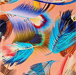 Палантин из вискозы 10811-3, павлопосадский палантин из вискозы, размер 65х200, фото 5