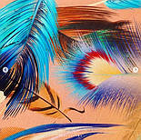 Палантин из вискозы 10811-3, павлопосадский палантин из вискозы, размер 65х200, фото 7