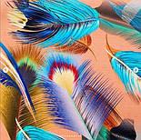 Палантин из вискозы 10811-3, павлопосадский палантин из вискозы, размер 65х200, фото 9