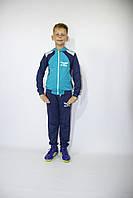 Спортивный трикотажный детский костюм для мальчика, 122-128-134-140 рост