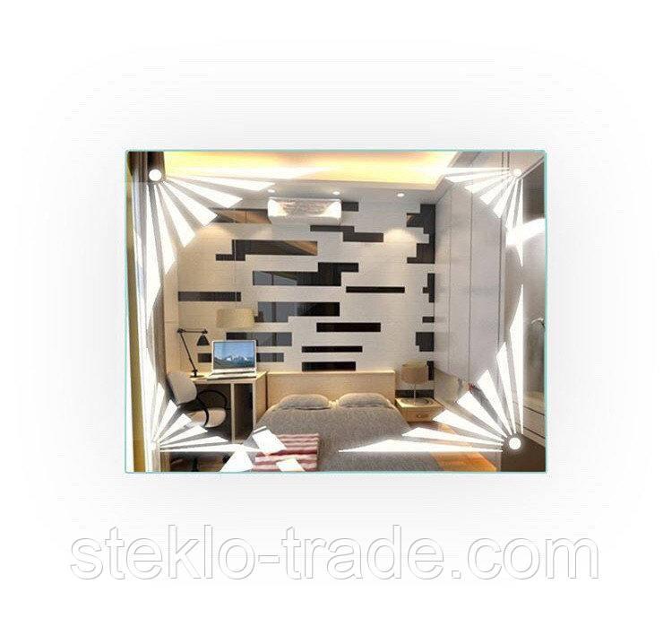Зеркало с LED подсветкой МИСТЕРИ