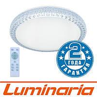 Потолочный светодиодный светильник LUMINARIA PLUTON 40W R-400-SHINY-220-IP44 с пультом ДУ