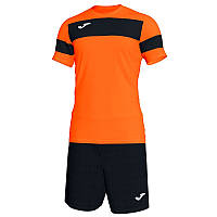 Форма футбольная Joma ACADEMY II ORANGE-BLACK S/S