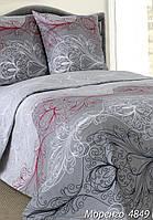 Комплект постельного белья евро МОРЕНГО ( нав. 70*70)