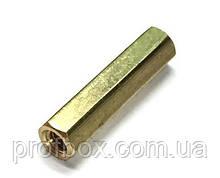 Стійка металева гайка/гайка М3х20