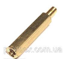 Стійка металева гайка/гвинт М3х20+6
