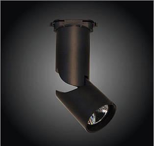 Трековый LED светильник 15W 4000K/6000K черный корпус 1230lm COB LS