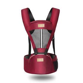 Слинг для новорожденных Bethbear. Эрго рюкзак переноска для детей. Сумка рюкзак кенгуру. Эргорюкзак хипсит