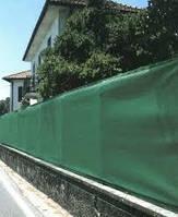 Сетка затеняющая заборная 110г/м2 плотность 1м на 10м