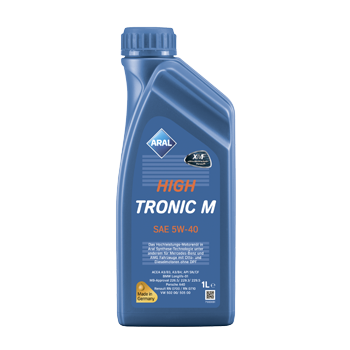 Масло моторное  Aral HighTronic M SAE 5W-40 1л
