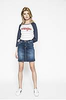 Юбка джинсовая мини Laura Skirt от Mustang в размере W28