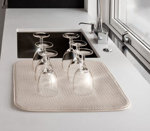 Коврик для сушки посуды из микроволокна(Smart, Швеция)