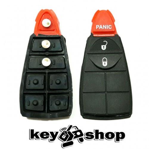 Кнопки для смарт ключа Dodge (Додж) 2 кнопки + 1 (panic)