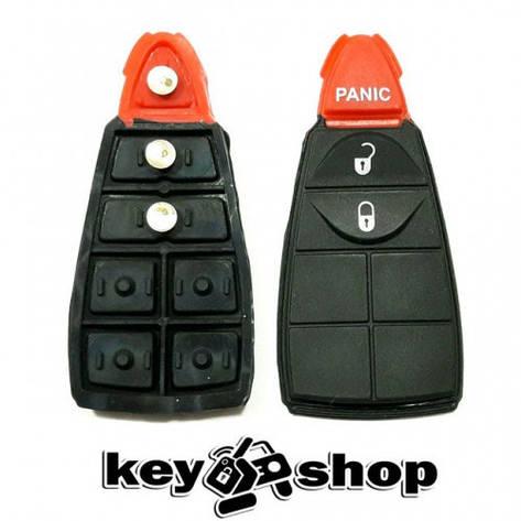 Кнопки для смарт ключа Dodge (Додж) 2 кнопки + 1 (panic), фото 2