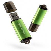 USB флеш накопитель eXceleram 64GB A3 Series Green USB 2.0 (EXA3U2GR64)