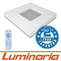 Потолочный светодиодный светильник LUMINARIA QUADRON 50W S-470-WHITE-220V-IP44 с пультом ДУ