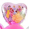 Композиция: цифра 2 и связка: сердце Принцессы, 2 розовых сердца, 7 шариков Доченьке и 3 шара с конфетти, фото 3