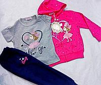 Детский  спортивный  костюм для девочек оптом