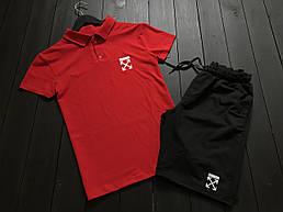 Модный молодёжный летний комплект -шорты и футболка  S,M,L,XL
