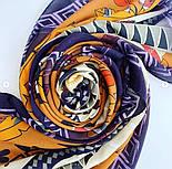 Палантин из вискозы 10813-16, павлопосадский палантин из вискозы, размер 65х200, фото 8