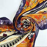 Палантин из вискозы 10813-16, павлопосадский палантин из вискозы, размер 65х200, фото 9