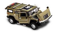 Машинка Hummer H2 металлическая модель на радиоуправлении (лицензионная)