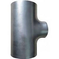 Тройник стальной неравнопроходной оцинкованный 159x5/133x4