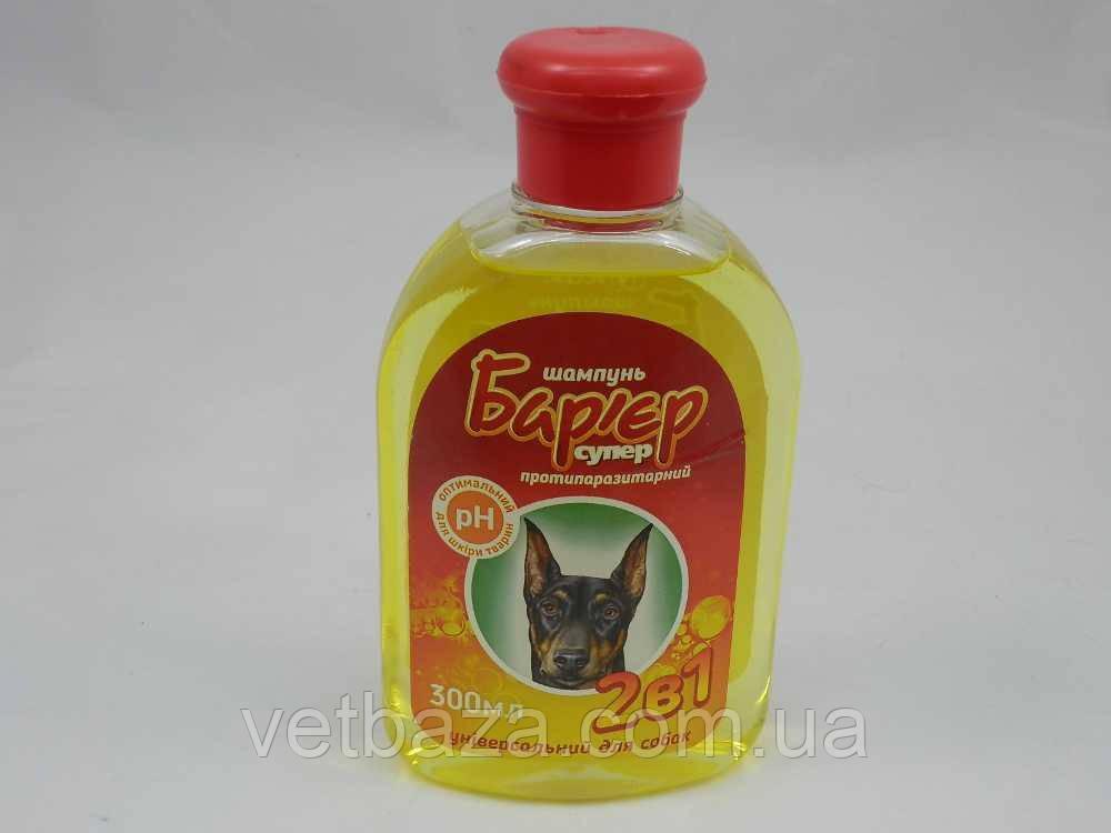Шампунь Барьер 2 в 1 для собак 300мл Продукт