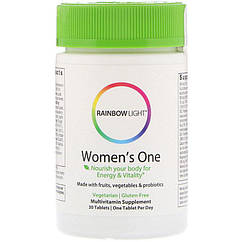 Витамины Rainbow Light Women's One (30 таб) рэинбоу лайт вумэн ван