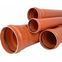 Труба для наружной канализации ПВХ 250x3,9 SN2 1000 мм