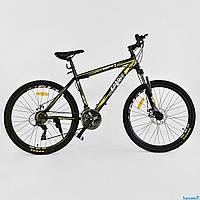 Горный велосипед CORSO SPIRIT 26 Черно-желтый