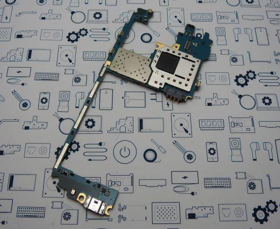 Материнская плата Samsung Galaxy J5 SM-J500H 1.5\8Gb UACRF оригинал с разборки (100% рабочая)