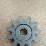 Шестерня к бетономешалке Сталь 11 зубов, фото 2