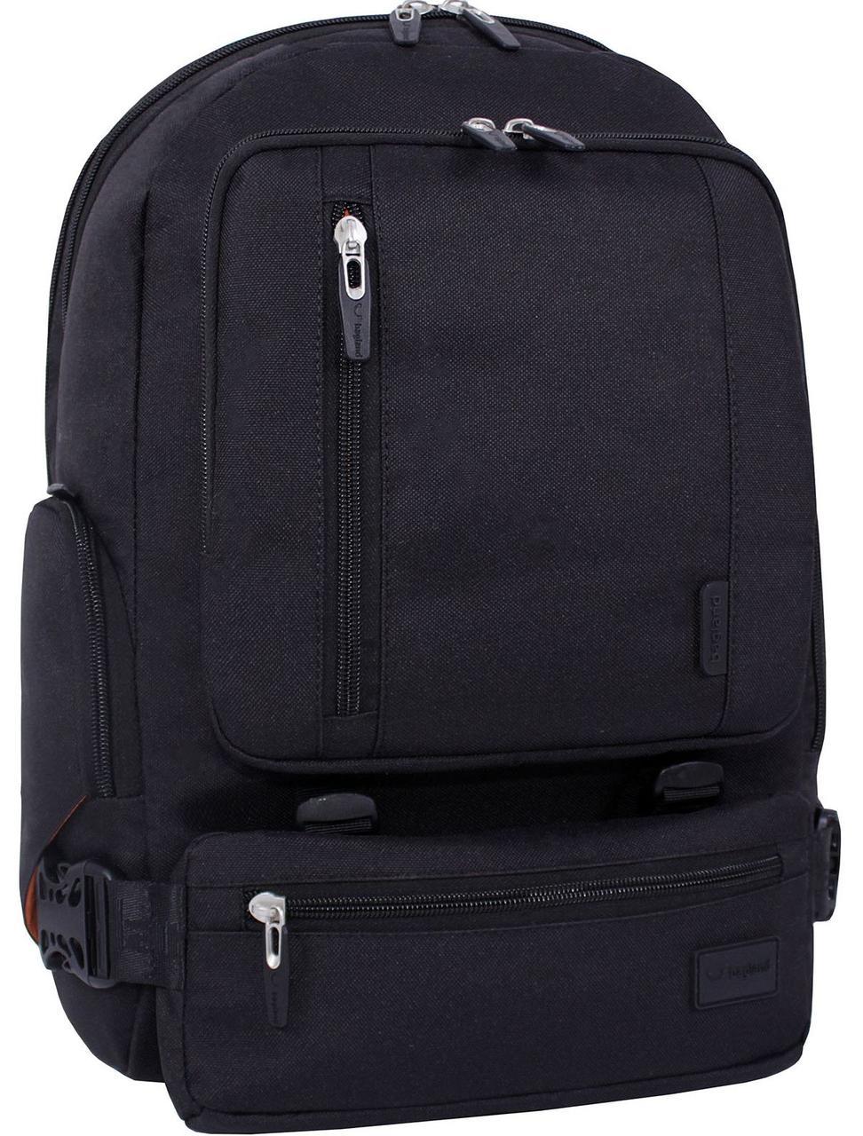 Рюкзак для ноутбука Bagland Frank черный 0059566 до 17 д-в