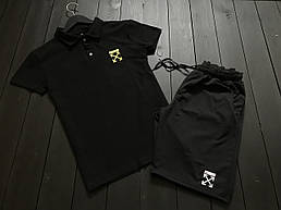 Стильный молодёжный летний комплект -шорты и футболка  S,M,L,XL