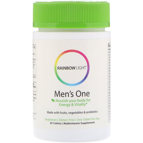 Витамины для мужчин Rainbow Light Men's One (30 таб) рейнбоу лайт менс ван