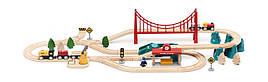 Конструктор дерев'яний - залізниця Xiaomi MITU Toy Train Set (MTWJ02MT)