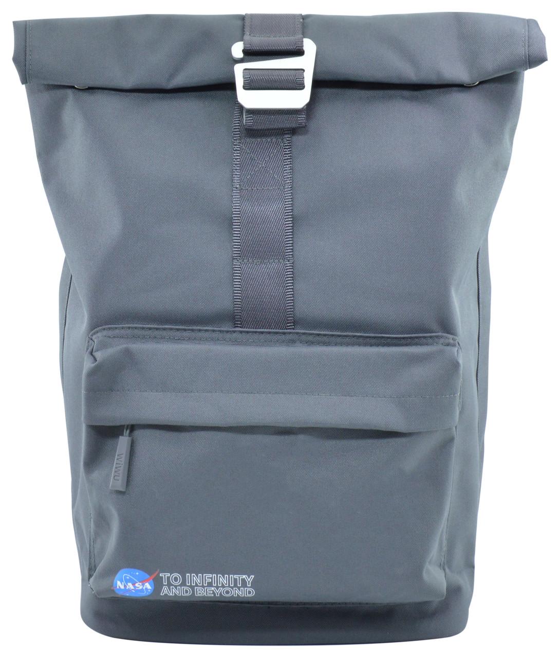 "Рюкзак WIWU Vigor Backpack для MacBook 15 ""NASA Серый (6957815510573)"