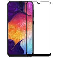 Защитное стекло 2.5D Full Screen Tempered Glass для Samsung Galaxy A30 (A305), A50 (A505), Black