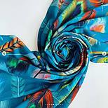 Палантин из вискозы 10811-12, павлопосадский палантин из вискозы, размер 65х200, фото 8