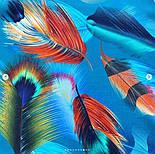 Палантин из вискозы 10811-12, павлопосадский палантин из вискозы, размер 65х200, фото 4