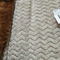 Плед капучино  Микрофибра на двуспальную кровать размер 200*230