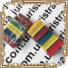 Прищепки разноцветные средн. (120 шт) кольцо