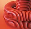 Труба гибкая двустенная 110/94 мм, без протяжки, красная (бухта 20 м), ДКС
