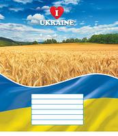 Тетрадь А5 24 л., (линия), Украина 2597л