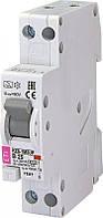 Дифференциальный автоматический выключатель KZS-1M SUP B 20/0,03 тип A (6kA) (верхн. подключ.) 2175705 ETI, фото 1