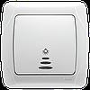 Кнопочный выключатель с подсветкой Carmen Viko