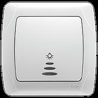 Кнопочный выключатель с подсветкой Carmen Viko, фото 1