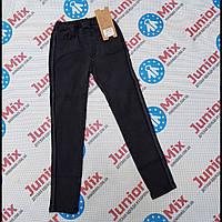 Подростковые черные джинсы для девочек  оптом GRACE  140---170см.
