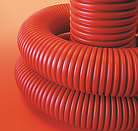 Труба гнучка гофрована 200/172 мм, без протяжки (бухта 20 м), ДКС